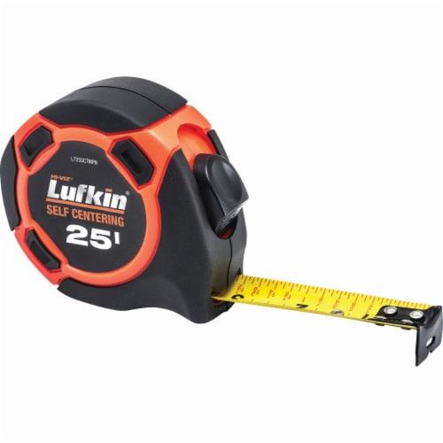 Lufkin Hi-Viz 25 Ft. Self-Centering Tape Measure L725SCTMPN Perspective: front