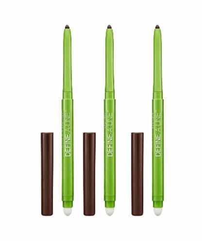 Define A Line Eyeliner #805 Brownish Black Pack of 3 Perspective: front