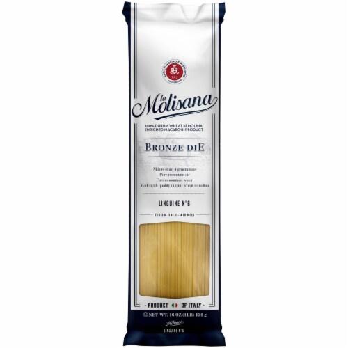 La Molisana Bronze Die Linguine Pasta Perspective: front