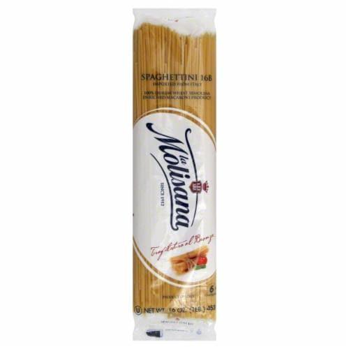 La Molisana Pasta Spaghettini Bronzo Perspective: front