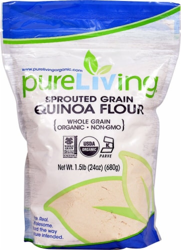 Pure Nutrition Organic Sprouted Quinoa Perspective: front