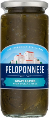 Peloponnese Grape Leaves Perspective: front