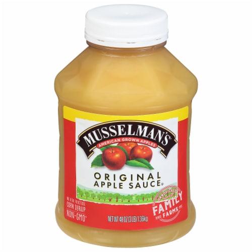 Musselman's Original Apple Sauce Perspective: front