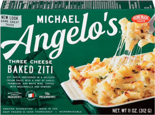 Michael Angelo's Three Cheese Baked Ziti Perspective: front