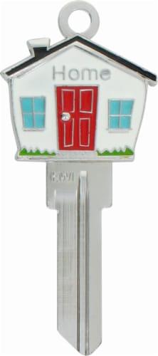 3D Keys Sculpted House Key - Multi-Color Perspective: front