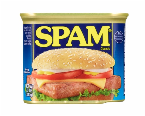 Spam Classic Canned Meat Perspective: front