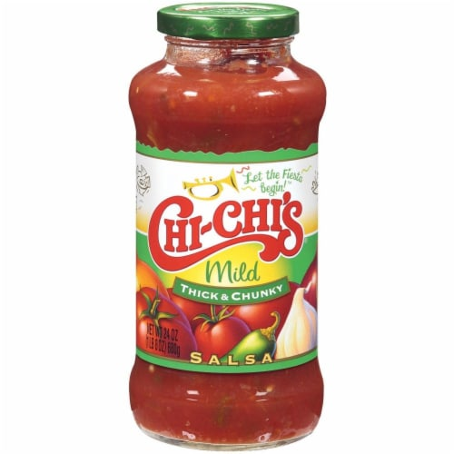 Chi-Chi's Mild Fiesta Thick & Chunky Salsa Perspective: front