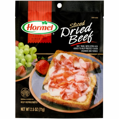 Hormel Sliced Dried Beef Perspective: front