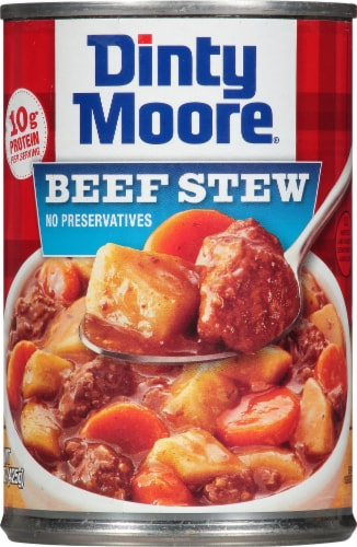 Dinty Moore Beef Stew Perspective: front