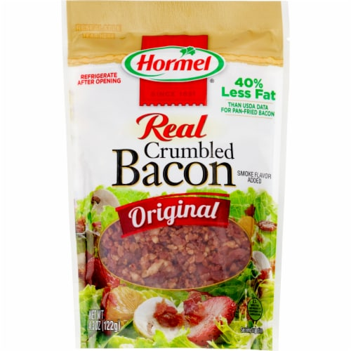 Hormel Real Crumbled Bacon Perspective: front