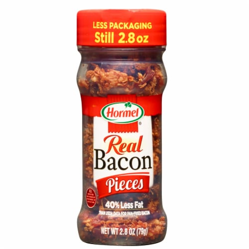 Hormel Bacon Pieces Shaker Perspective: front