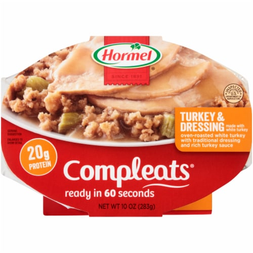 Hormel Compleats Turkey & Dressing Meal Perspective: front