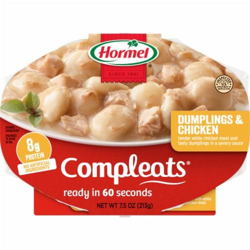 Hormel Compleats Comfort Classics Dumplings & Chicken Perspective: front