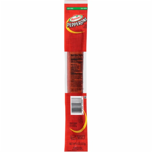 Hormel Pepperoni Stick Perspective: front