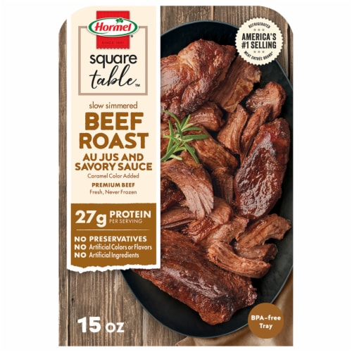 Hormel® Slow Simmered Beef Roast Au Jus Perspective: front