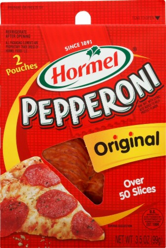 Hormel Original Pepperoni Perspective: front