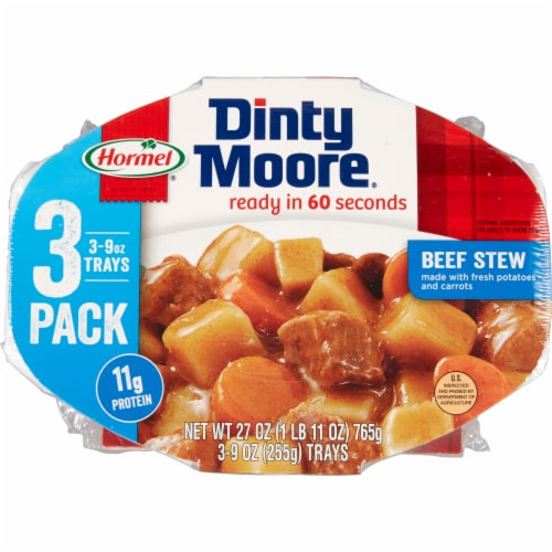 Dinty Moore Beef Stew 3 Count Perspective: front