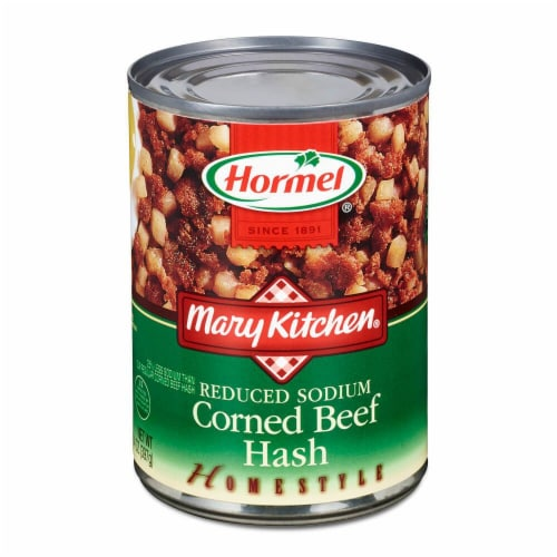 Hormel Mary Kitchen Reduced Sodium Corned Beef Hash Perspective: front