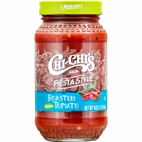 Chi-Chi's Medium Roasted Tomato Fiesta Style Salsa Perspective: front