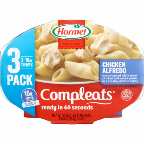 Hormel Compleats Chicken Alfredo Value Pack Perspective: front