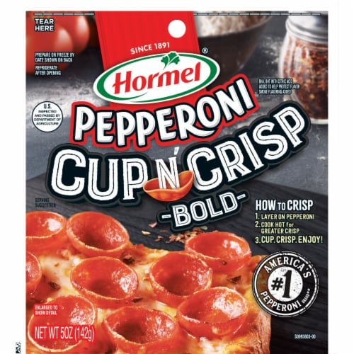 Hormel Cup N' Crisp Bold Pepperoni Perspective: front