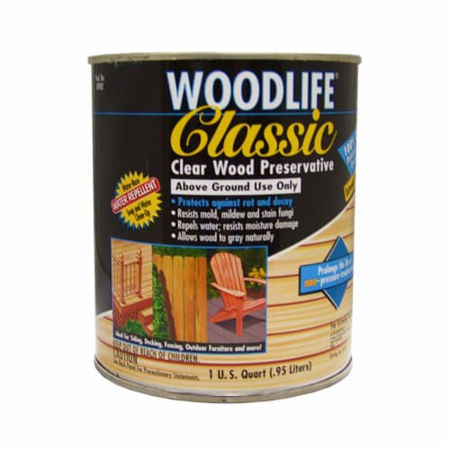 Wolman 902 Woodlife Classic Clear Wood Preservative qt Perspective: front