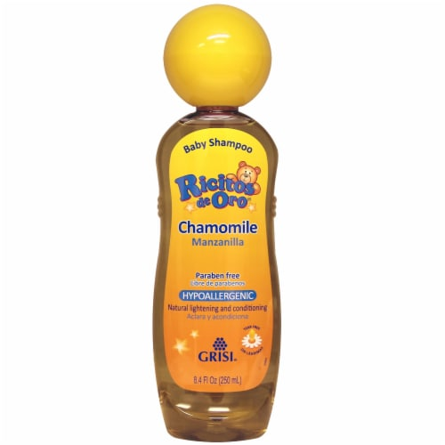 Ricitos De Oro Hypoallergenic Chamomile Baby Shampoo Perspective: front