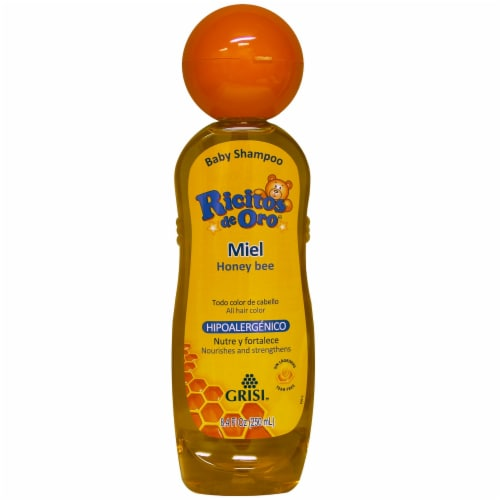 Ricitos de Oro Honey Baby Shampoo Perspective: front