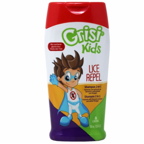 Grisi Kids Lice Repel Shampoo Perspective: front
