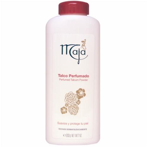 Maja Perfumed Talcum Powder Perspective: front
