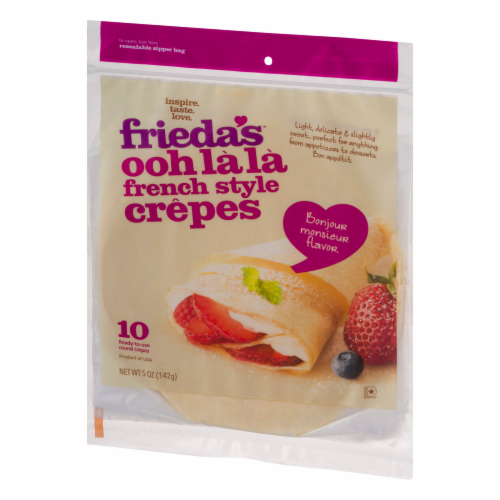 Frieda's French Style Crepes Perspective: front