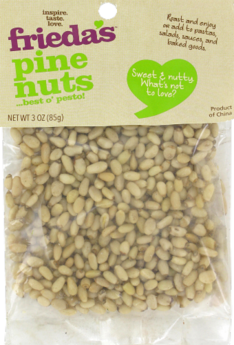 Frieda's Pine Nuts Perspective: front
