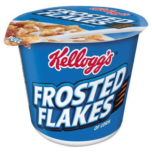 Kellogg's Frosted Flakes&reg Cereal-in-a-Cup - 1 Serving Cup - 6 / Box Perspective: front