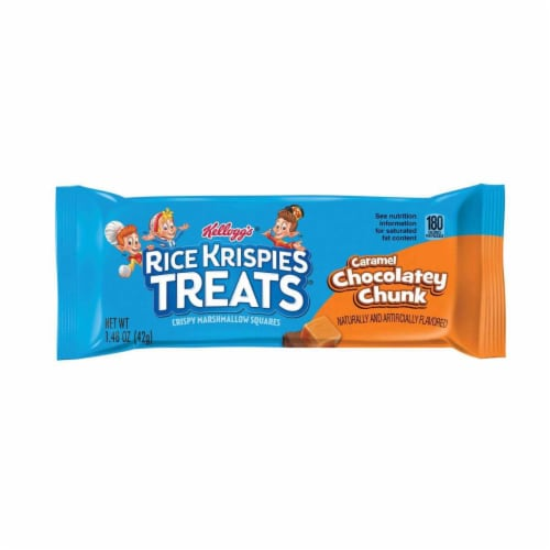 Rice Krispies Chocolate Caramel Treat - 1.48 oz. bar, 80 per case Perspective: front