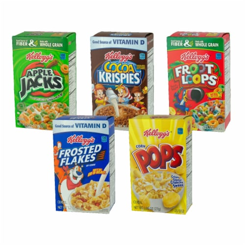 Fun Pak Cereal 12/8 Pack 8 Case .6 Ounce Perspective: front