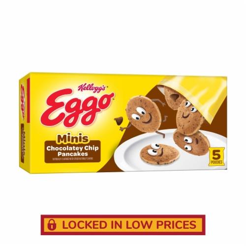 Kellogg's Eggo Frozen Breakfast Pancake Bites Chocolatey Chip Perspective: front