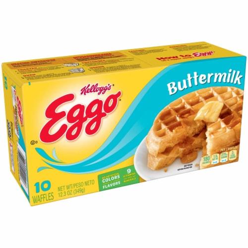 Eggo® Buttermilk Waffles - 8 Pack Perspective: front