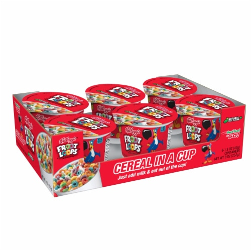 Cereal Cereal In A Cup Froot Loops, 1.5 Ounce Each -- 60 Per Case Perspective: front