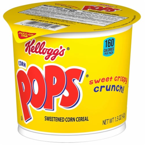 Cereal Cereal In A Cup Corn Pops, 1.5 Ounce Each -- 60 Per Case Perspective: front