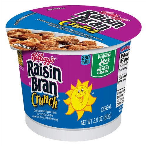 Cereal Cereal In A Cup Raisin Bran Crunch, 2.8 Ounce Each -- 60 Per Case Perspective: front
