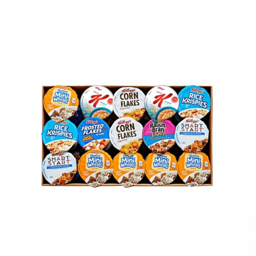 Kelloggs Classic Cereal Cup, 60 cups per case Perspective: front