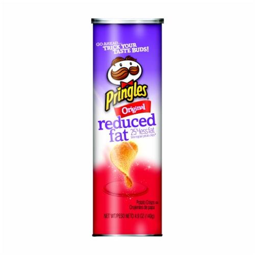 Pringles Original Reduced Fat Potato Crisps Perspective: front
