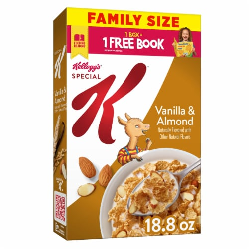 Kellogg's Special K Vanilla and Almond Breakfast Cereal Perspective: front