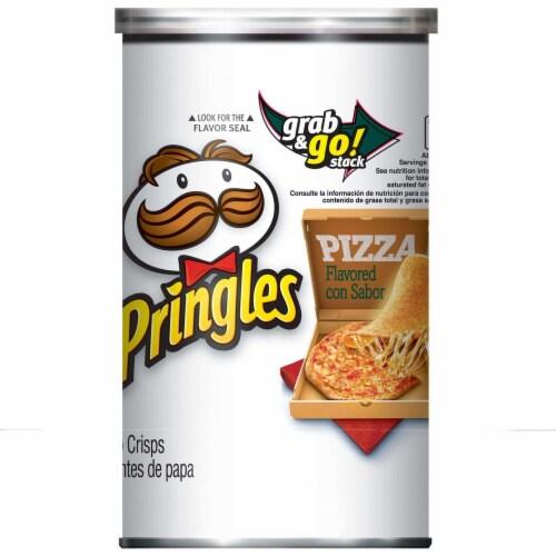 Pringles Pizza Crisps, 2.5 Ounce -- 12 per case. Perspective: front