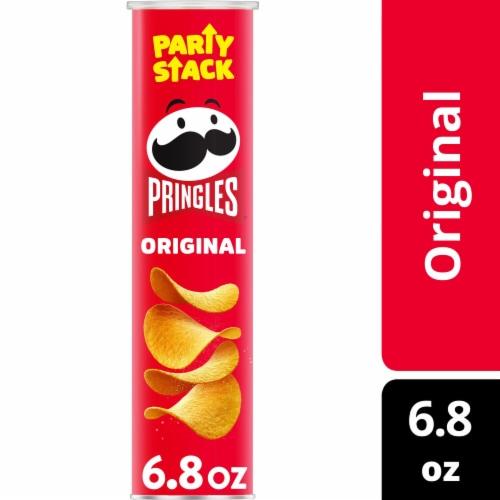 Kellogg's Pringles Snacks Original Potato Crisps Chips Perspective: front