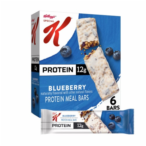 Special K Blueberry Protein Meal Bars Perspective: front
