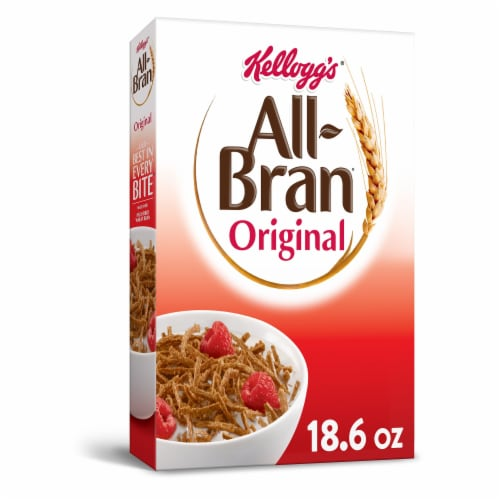 Kellogg's All-Bran Breakfast Cereal Original Perspective: front