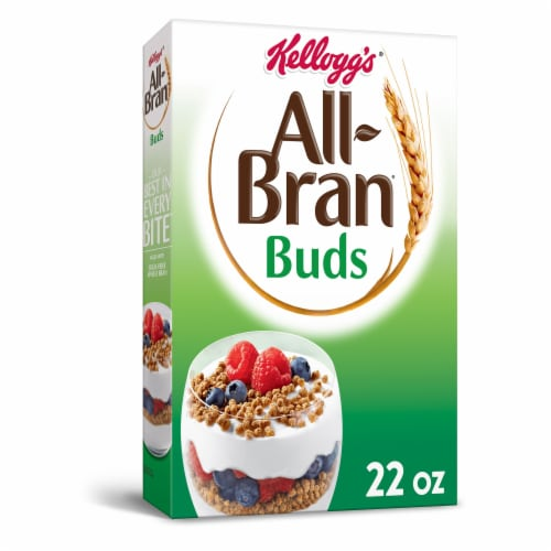 Kellogg's All-Bran Buds Breakfast Cereal Original Perspective: front
