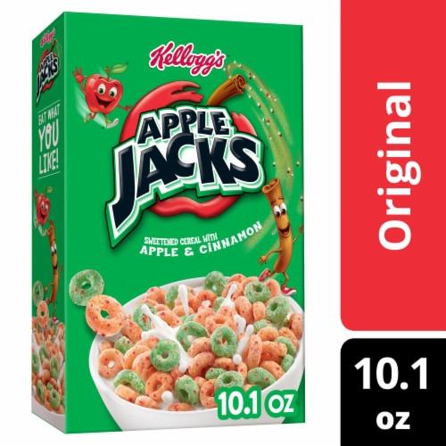 Kellogg's Apple Jacks Breakfast Cereal Original Perspective: front