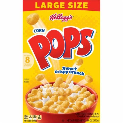 Kellogg's Corn Pops Original Breakfast Cereal Perspective: front